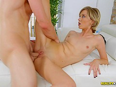 Fabulous pornstars Bruce Venture, Haley Reed in Best Blonde, Facial porn video