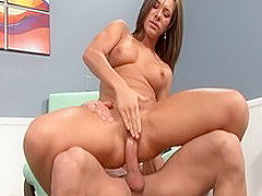 Best pornstar Camryn Kiss in incredible brunette, blowjob porn scene