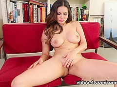 Best pornstar Sunny Leone in Fabulous Masturbation, Lingerie adult movie