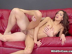 Best pornstar Chloe Amour in Fabulous Skinny, Cumshots xxx video