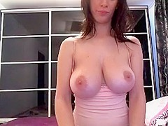 Incredible Amateur clip with Big Tits, Solo scenes