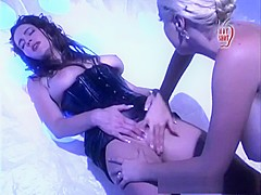 Exotic pornstars Taylor St. Claire and Salena Del Rey in incredible lesbian, brunette xxx clip