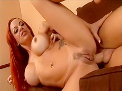 Horny pornstar Shannon Kelly in crazy anal, redhead sex video