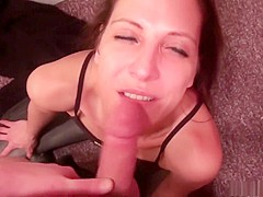 Fabulous pornstar Marie Madison in hottest blowjob, mature xxx movie