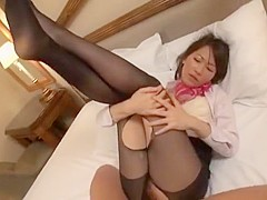 Incredible Japanese chick Aoki Misora in Exotic Small Tits JAV scene