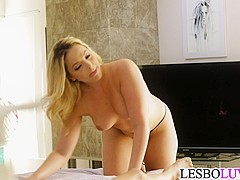 Les worship with Alexis Texas and Dana Vespoli