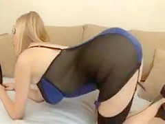 Beautiful girl anal with bbc