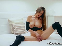 Exotic pornstar Connie Carter in Hottest Solo Girl, Babes xxx clip