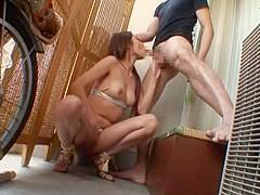 Hottest Japanese slut Rina Fujimoto in Horny Blowjob/Fera JAV scene