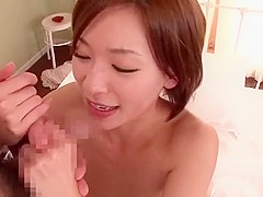 Horny Japanese girl Kaho Kasumi in Incredible JAV video