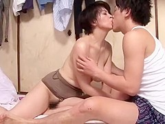 Horny Japanese slut Chiaki Takeshita in Exotic Big Tits JAV video