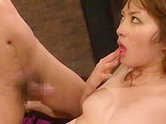 Fabulous Japanese model Miku Ohashi in Exotic MILFs, Rimming JAV clip