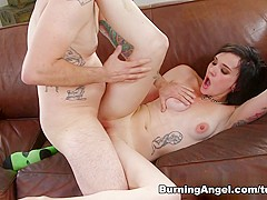 Incredible pornstars Nikki Hearts, Tommy Pistol in Hottest Emo, Brunette adult movie