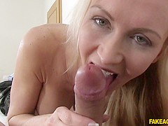 Exotic pornstar in Crazy Blonde, Casting porn video