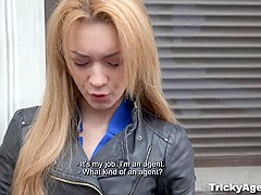 Tricky Agent - Sex audition with petite teen