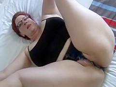 Exotic Homemade video with Brunette, Solo scenes
