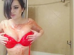 Amazing Homemade record with Solo, Brunette scenes