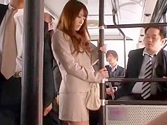 Hottest Japanese slut Kokomi Sakura in Fabulous Public, Secretary JAV scene