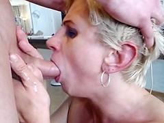 Blowjob and facefuck