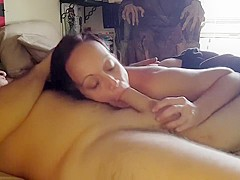 Reverse Cowgirl With Spankings And Creampie