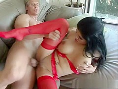 Incredible pornstar Alexis Amore in exotic brunette, big tits adult clip