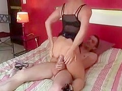 Horny Amateur video with Big Dick, Threesome scenes