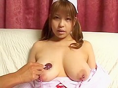 Exotic Japanese chick Nana Mochizuki in Best Dildos/Toys, Big Tits JAV video
