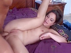 Horny pornstar Amber Rayne in amazing anal, facial sex video