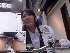 Hottest Japanese whore Yua Sasaki in Horny Outdoor, Stockings/Pansuto JAV movie