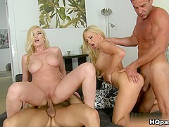 Fabulous pornstar in Horny Big Tits, Group sex sex scene