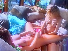 Best pornstars Holly Hollywood and Avy Scott in crazy dildos/toys, masturbation porn video