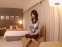 Fabulous Japanese whore Reon Otowa, You Takeuchi in Best Doggy Style JAV video