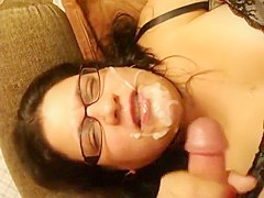 Amazing Amateur video with Blowjob, Cumshot scenes