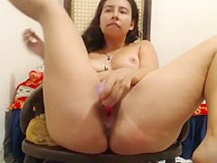 Hairy Girl In Pantyhose Masturbate With Strangers Part 6