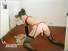 Horny Amateur record with Masturbation, Stockings scenes
