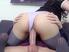 Getting A Deep Creampie