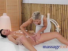 Horny pornstar in Hottest Lesbian, Massage sex video