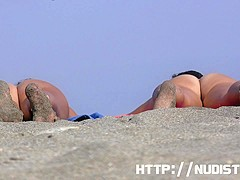 She like to be nude at the nudist beach hidden camera