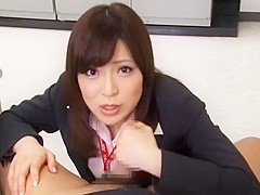 Crazy Japanese model Aya Sakurai in Amazing Secretary, Big Tits JAV scene