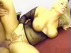 Incredible pornstar Jamie Brooks in amazing anal, fishnet porn scene