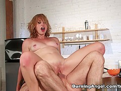 Amazing pornstar John Strong in Incredible Redhead, Big Ass sex movie