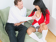 Mark Ashley & Rhianna Ryan in Rhianna Makes Him Cum So Good She's Sure To Pass - BestGonzo