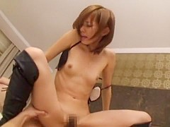 Amazing Japanese model Reina Matsuyama in Horny Small Tits, Bathroom JAV video
