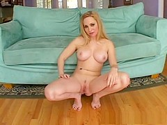 Best pornstar Aiden Starr in horny big tits, blonde porn movie