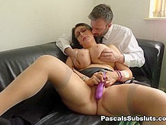 Sabrina Jade in The First Of Many Titanic Cums - PascalsSubSluts
