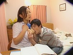 Hottest Japanese chick Yuki Sakurai, Yuri Honma in Amazing Big Tits, Hidden Cams JAV movie
