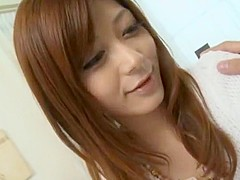 Amazing Japanese slut Haruki Sato in Hottest Doggy Style, Cunnilingus JAV scene