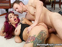 Fabulous pornstars Veronica Rose, Erik Everhard in Best Big Tits, Latina sex video