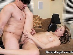 Incredible pornstar Alyssa Branch in Fabulous Facial, Hardcore porn scene