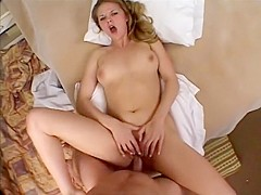 Best pornstar Sunrise Adams in horny blonde, anal adult movie